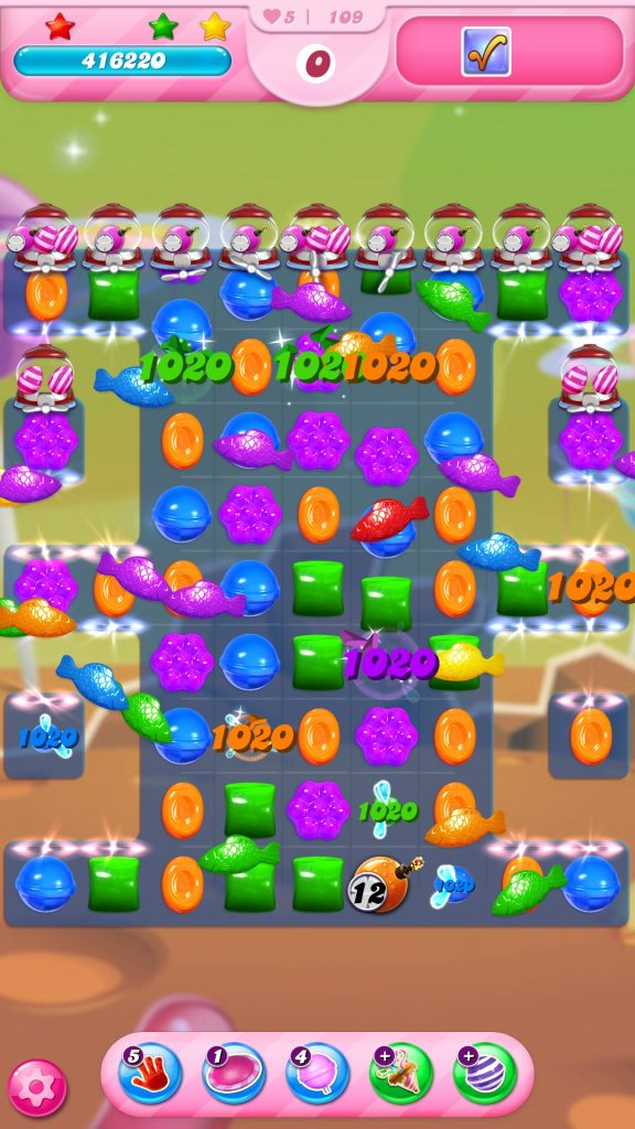 candy crush saga game play